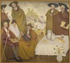 Zubiaurre, Valentín: Hombres de Castilla