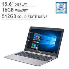 ASUS K501UW Laptop - Intel Core i7 - 4K Ultra HD - 4GB Graphics