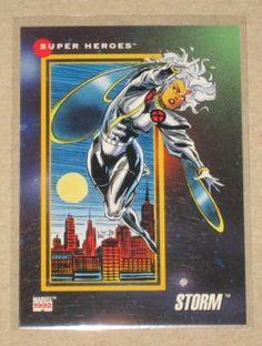 Marvel Universe Series 3 (Impel 1992) Card #30 Storm NM