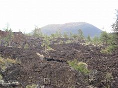 Lava Field at Sunset Crater, Flagstaff, AZ