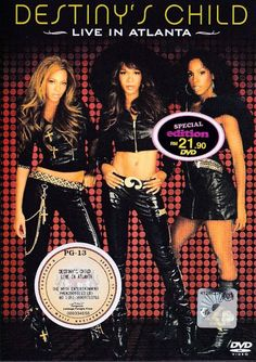 DESTINY'S CHILD Live In Atlanta Beyonce DVD NEW NTSC Region All Free Shipping