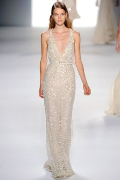 Elie Saab Spring 2012 Ready-to-Wear Collection Photos - Vogue. Model: Mirte Maas