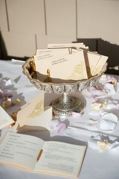 Mrs. Pug's DIY wedding programs