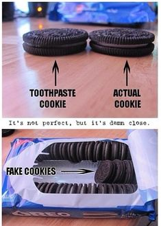 Because he thought this was a hysterical #prank and he touched my #cookies