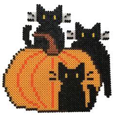 Katte på græskar | HAMA perler