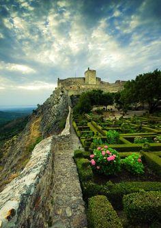 Garden of Marvão Castle, Portugal