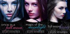 Abbie Reads: A Bibliophile's Blog: Full Moon series by Ellen Schreiber