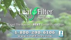 Pine needles and maple spinners can't stand up to a Leaf Filter protected gutter! Just ask this couple that has had Leaf Filter Gutter Filters installed on their home for over a year.
