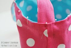 The Reversible Bag…for kids! | Make It and Love It