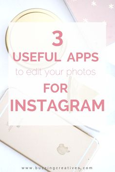 editing apps help you with your editing workflow and can lead to cohesive feeds when you use the similar settings each time you use the app.  The best part about editing apps is that they mean you don't require big expensive cameras and editing software to achieve those amazing looking Instagram images and feeds!