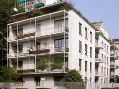 Condominio in via Lanzone, Milano, Italia - Gustavo e Vito Latis e Lucio Fontana City Life, Modern Architecture, Multi Story Building, Balconies, Milano Italia, Towers, Buildings, Houses, Design