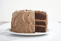 Anna Olson's Chocolate Celebration Cake Ultimate Chocolate Cake, Chocolate Mousse Cake, Chocolate Cakes, Chocolate Lovers, Fudge Frosting, Fudge Cake, Baking Recipes, Cake Recipes, Dessert Recipes