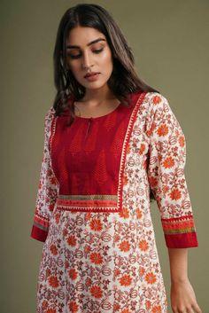 Salwar Neck Designs, Churidar Designs, Kurta Neck Design, Dress Neck Designs, Kurta Designs Women, Stylish Dress Designs, Designs For Dresses, Stylish Dresses, Women's Fashion Dresses