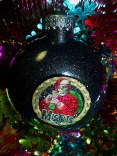 rock music heavy metal christmas ornaments decorations