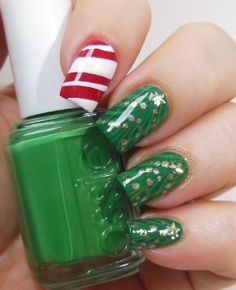 christmas at Did My Nails #nail #nails #nailart