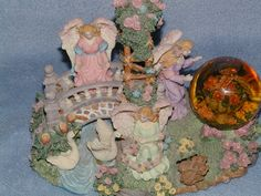 Angels Garden Music Box by SandECollectibles on Etsy, $34.95