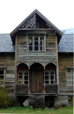 Holtleitet farm, Stordal, Norway - AbandonedPorn                                                                                                                                                      More