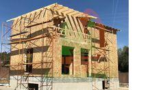 construcción casas de madera Wooden Houses, Houses