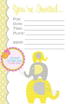 fill in baby shower invitations 5