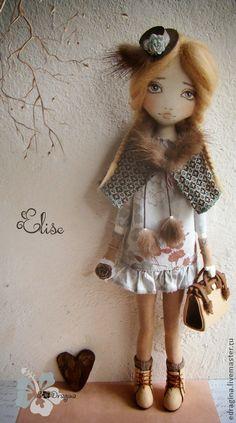 Коллекционные куклы ручной работы. Ярмарка Мастеров - ручная работа Elise. Handmade.