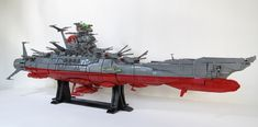Space Battleship YAMATO: A LEGO® creation by Mark Rodrigues : MOCpages.com