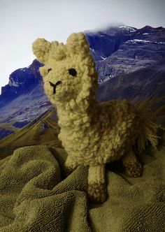 Llama! Adapted from a free pattern
