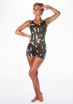 9ccf2fff0986f Alegra Patterned Hotpant Unitard - Move Dancewear® Dance Wear, Leotards,  Fancy Dress,