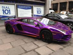 Awesome fancy purple car! Will you try it on your wedding? #PurpleCar London Police, Fancy Cars, Car Colors, Purple Reign, Amazing Cars, Awesome, Car Wallpapers, Car Manufacturers, Car Photos