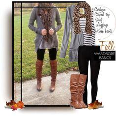 """""""Fall Wardrobe Basics"""""""