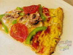 Cauliflower Pizza Crust - Low Carb Recipe