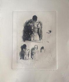 Modernism, Lovers Art, Art Images, Printmaking, Art Reference, Sketches, Study, Fine Art, Portrait
