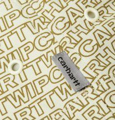 Carhartt Typo Logo-print Cotton-canvas Bucket Hat In Neutrals Typo Logo, Carhartt Wip, Printed Cotton, Cotton Canvas, Bucket Hat, Neutral, Canvas Prints, Lettering, Logos