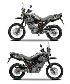 Some ideas for my XT660z. Anyone ever tried drilling speedholes in the plastics? :-S