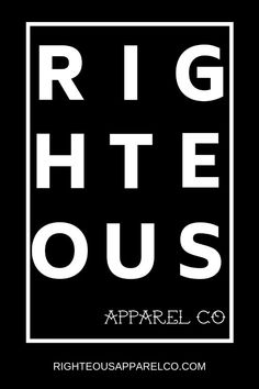 If you are looking for tattoo inspired t-shirts and apparel for men and women, go check out Righteous Apparel Co. Great selection of t-shirts hand drawn by tattoo artists with an inspiring message and mission, including this army green righteous shirt wit Christian Clothing, Christian Apparel, Branded Gifts, Thermal Shirt, Hipster Outfits, Writing Styles, Quality T Shirts, Inspirational Message, Designs To Draw