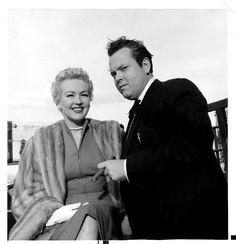 Betty Grable & Orson Welles