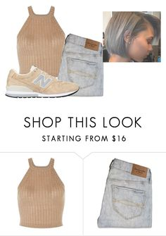 """""""Untitled #1306"""" by beautyqueen-927 ❤ liked on Polyvore featuring Abercrombie & Fitch and New Balance"""