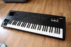 Ensoniq Advanced Sampling Recorder ASR-10 ~ 1992 sampling workstation using the synthesizer architecture of Ensoniq's classic line of synthesizers