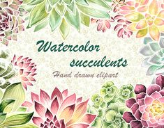 "Check out new work on my @Behance portfolio: ""Watercolor succulents"" http://be.net/gallery/61990527/Watercolor-succulents"