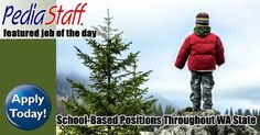 School-Based Openings Throughout Washington State - pinned by @PediaStaff – Please Visit ht.ly/63sNtfor all our pediatric therapy pins