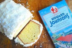Howard Johnson's Coconut Cake
