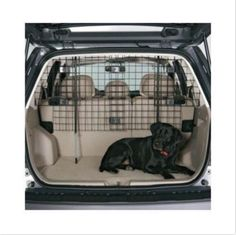 Car-Pet-Barrier-Vehicle-Dog-Fence-Cage-Gate-Safety-Mesh-Net-Auto-Travel-Van-SUV