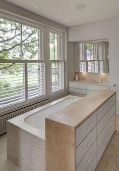 Stijlvolle badkamer van Victoriaanse woning