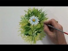 Watercolour Flowers Two - Part Two - YouTube