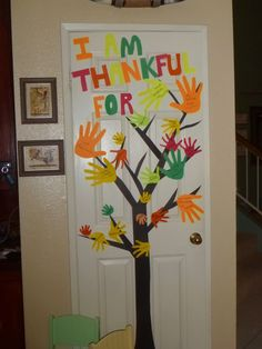 The Thankful Tree for Thanksgiving craft fun