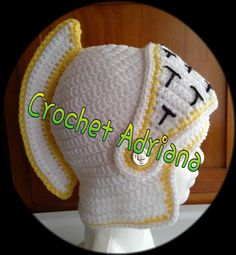 gorros medievales bebés tejidos crochet