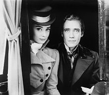 Audrey Hepburn in War and Peace (1956) with her first husband Mel Ferrer