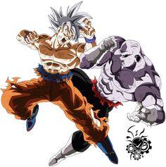 Limit Breaker - Dragon Ball Super by Tomycase on DeviantArt Goku Vs Jiren, Goku Y Vegeta, Tatoo Naruto, Evil Goku, Z Tattoo, Ball Drawing, Dbz Characters, Pokemon Coloring Pages, Japan Tattoo