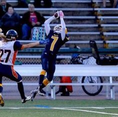 Catching a 50 yard pass in the Provincial final of my senior year! Get To Know Me, Getting To Know, 50 Yards, Senior Year, Finals, Running, Keep Running, Final Exams, Why I Run