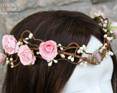 Fairytale bride tiara - elven tiara - elvish crown - fairy circlet * made to order*
