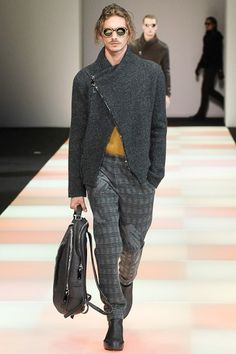 See the Emporio Armani autumn/winter 2015 menswear collection